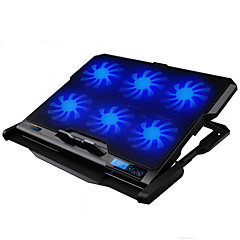 LED-scherm 6 fans verstelbare koeler cooling pad met stand