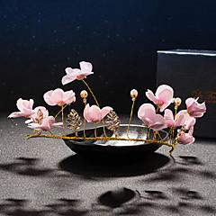 Ženy Křišťál Mosaz Imitace perly Látka Přílba-Svatba Zvláštní příležitost Čelenky Jeden díl