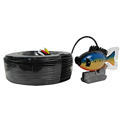 Fish Finder   Underwater Camera  100m Cable  CCD Color Camera Underwater Video Fishing Camera 3W LED