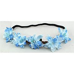 נשים בד כיסוי ראש-חתונה זרי פרחים חלק 1