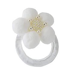 פנינה / אקרילי מפיות חתונה-2 חתיכה / סט טבעות מפיות