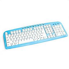 Med kabel USB TastaturForWindows 2000/XP/Vista/7/Mac OS / Android OS