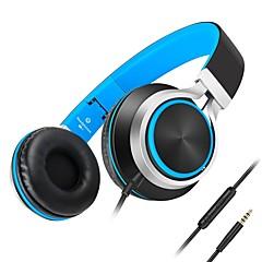 Kanen C8 ヘッドホン(ヘッドバンド型)Forメディアプレーヤー/タブレット / 携帯電話 / コンピュータWithマイク付き / ボリュームコントロール