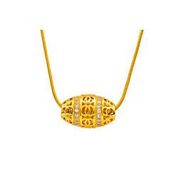 Women's Pendant Necklaces Pendants Crystal Crystal Gold Plated 24K Plated Gold Fashion Adorable Personalized Golden JewelryWedding Party