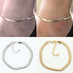 Žene Kratka čarapa/Narukvice Glina Legura Moda Simple Style Zmija Pink Zlatan Ženski Jewelry Dnevno Kauzalni Božićni pokloni 1pc