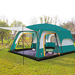 CAMEL® >8 persons Tent Triple Family Camping Tents Three Rooms Camping Tent >3000mmWaterproof Breathability Ultraviolet Resistant
