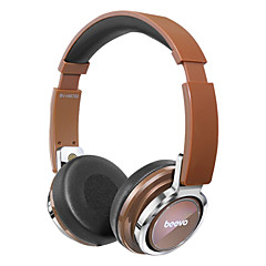 Beevo HM780 Headband Foldable Wired Headphones Headset w/ Mic For PC Table Cell Phone