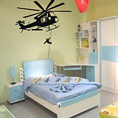 Militär Wand-Sticker Flugzeug-Wand Sticker Dekorative Wand Sticker,PVC Stoff Repositionierbar Haus Dekoration Wandtattoo