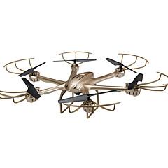 Drone MJX x601h 4CH 6 Eixos 2.4G Com Câmera Quadcóptero RCFPV / Iluminação De LED / Retorno Com 1 Botão / Auto-Decolagem / Seguro Contra