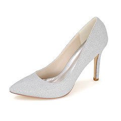 Women's Shoes Glitter Spring / Summer / Fall Pointed Toe Heels Wedding / Party & Evening / Dress