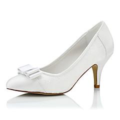 Women's Heels Spring / Summer / Fall / Winter Heels / Closed Toe Silk Wedding / Party & Evening /