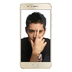 """Huawei Honor 8 5.2 """" Android 6.0 4G smartphone (Dobbelt SIM Octa Core 12 MP 3GB + 32 GB Hvid / Gyldent)"""