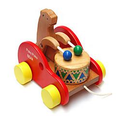 puinen rumpu karhu vauva taapero kiipeilyä vedä lasten palapeli koulutus-lelut