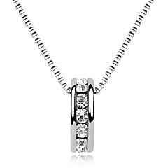 Halsband Hänge Halsband Smycken Dagligen Moderiktig Legering Silver 1st Present