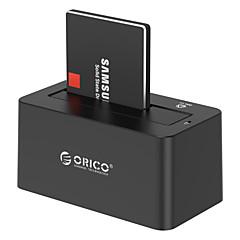 Orico s3 enkelt plate av en harddisk 6619 høyhastighets kopi se harddisk boks på 2,5 / 3,5 tilfeldig farge