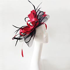 成人用 羽毛 フラックス かぶと-結婚式 パーティー ヘッドドレス 1個