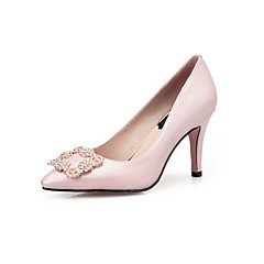 Women's Shoes  real leather high  Heels Pointed Toe Heels Wedding Party & Evening Dress Stiletto Heel women pump