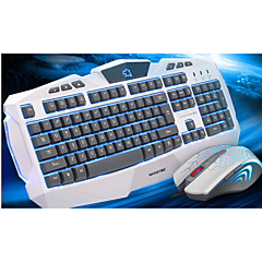 White Suit U  U Three Color Backlighting Game Keyboard Or Suit