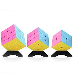 Rubik's Cube YongJun Cubo Macio de Velocidade 2*2*2 3*3*3 4*4*4 Velocidade Nível Profissional Cubos Mágicos ABS