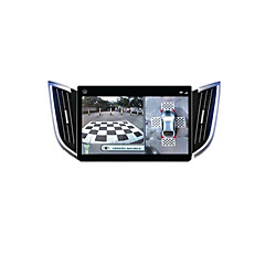 360 Degree Panoramic Driving Recorder Seamless 4 Way 720P HD Vehicle Reversing Video Camera
