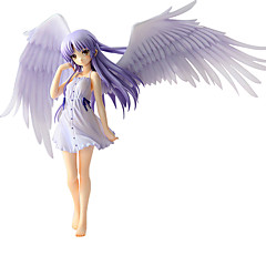 Anime Toimintahahmot Innoittamana AngelBeats Kanade Tachibana PVC 20 CM Malli lelut Doll Toy