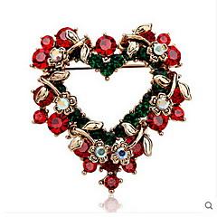 女性 ブローチ 幸福 ファッション クリスマス 欧風 ジュエリー のために パーティー 誕生日 日常 カジュアル クリスマスギフト