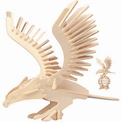 Palapelit Puiset palapelit Rakennuspalikoita DIY lelut Eagle 1 Puu Kristalli
