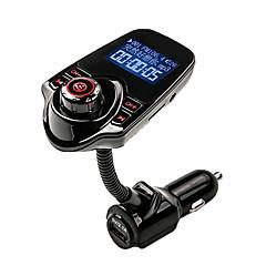 agetunr fm transmitter bluetooth autós kihangosító készlet mp3 zenelejátszó rádió adapter távirányítóval iPhone / samsung lg okostelefon