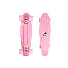 22 polegadas Cruisers skate Skates padrão PP (Polipropileno) Rosa Claro