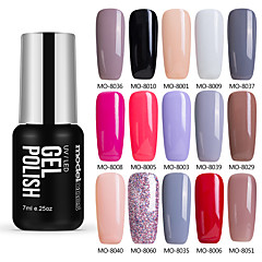 Nail Polish UV Gel  7 1 UV Color Gel Soak off Long Lasting