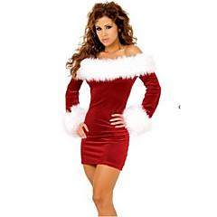 Szerepjáték Jelmezek Piros / Piros & Fehér Terylene Szerepjáték kiegészítők Karácsony / Farsang