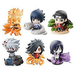 Anime Action-Figuren Inspiriert von Naruto Hokage PVC 6 CM Modell Spielzeug Puppe Spielzeug