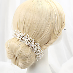Women's Alloy Imitation Pearl Headpiece-Wedding Headbands