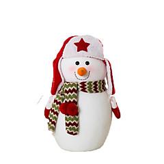 Speeltjes Kerstversieringen Sneeuwman Cartoon / Schattig / Hoge kwaliteit / Modieus Alles voor de feestdagen Voor jongens / Voor meisjes