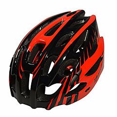 Hora / Cesta / Sporty-Pánské-Cyklistika / Horská cyklistika / Silniční cyklistika-Helma(Zelená / Červená / Modrá,EPS)28 Větrací otvory