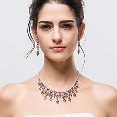 Šperky 1 x náhrdelník / 1 x pár náušnic Halloween / Svatební / Párty 1Nastavte Dámské Viz fotografie Svatební dary