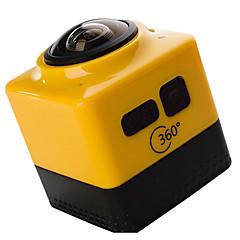CUBE 360 מצלמה בסגנון / מצלמת פעולה 16MP 4608 x 3456 WIFI / ניתן להתאמה / Wireless / זויית רחבה 30fps No ± 2EV No CMOS 32 GBMPEG-4 /