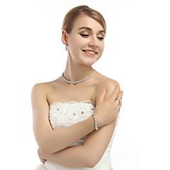 Šperky 1 x náhrdelník / 1 x pár náušnic / 1 x náramek Halloween / Svatební / Párty 1Nastavte Dámské Viz fotografie Svatební dary
