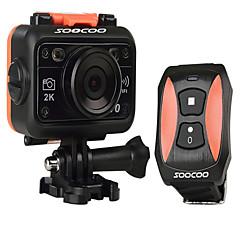1 מצלמה בסגנון / מצלמת פעולה 8MP 2048 x 1536 WIFI / עמיד במים / ניתן להתאמה / Wireless / זויית רחבה 60fps / 120fps / 30fps / 24fps 4X±