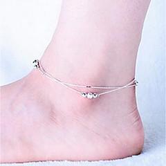 Dame Ankel/Armbånd Sølv Mote Personalisert Smykker Til Bryllup
