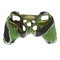 מקרה עור סיליקון להסוואת בקר PS3 PS2