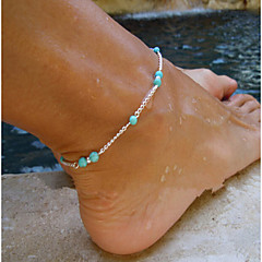 Fußkettchen / Armband Formmerkmal Material Materialfarbe Frauen Schmuck Menge gezeigt
