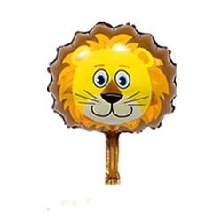 風船 ライオン アニマル アルミニウム 5~7歳