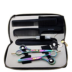 Professional Barber Hair Clipper Cutting Thinning Scissors Shear Hairdressing Sets