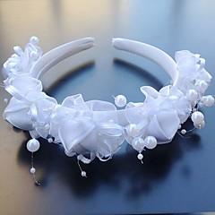 Women's Tulle Plastic Headpiece-Wedding Special Occasion Headbands Flowers 1 Piece