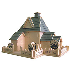 פאזלים פאזלים מעץ אבני בניין צעצועי DIY כדור לוחם 1 עץ קריסטל צעצוע בניה ודגם