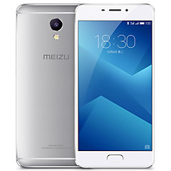 "MEIZU M5 Note 5.5 "" Flyme OS Celular 4G (Chip Duplo oito-núcleo 13 MP 3GB + 32 GB Prateado)"