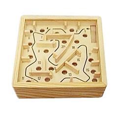Lindert Stress / Bausteine Neuheiten - Spielsachen Spielzeuge Neuartige Quadratisch Holz Khaki Für Jungen / Für Mädchen