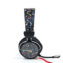 中性生成物 GS-788 ヘッドホン(ヘッドバンド型)Forメディアプレーヤー/タブレット / 携帯電話 / コンピュータWithマイク付き / DJ / ボリュームコントロール / ゲーム / スポーツ / ノイズキャンセ / Hi-Fi / 監視