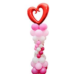 Μπαλόνια Γιορτινά προϊόντα Κυλινδρικό Καουτσούκ Ασημί